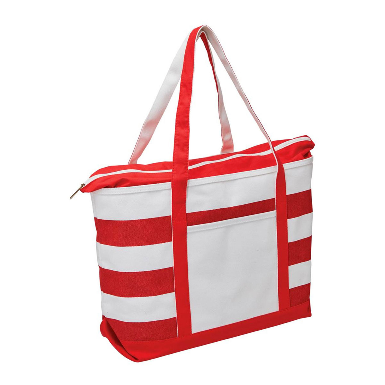 746e69c27 Wholesale Premium Canvas Striped Tote | Bulk Buy Blank Bags Online