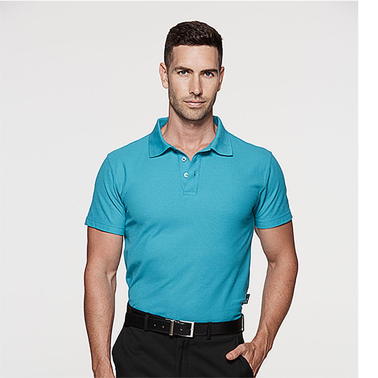 Click Workwear Polo Shirt Polycotton Unisex Work Wear Short Sleeve Plain Mens