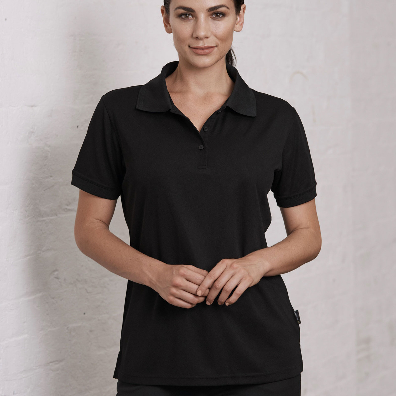 LEVITY | Ladies Honeycomb Knit Polyester Polo