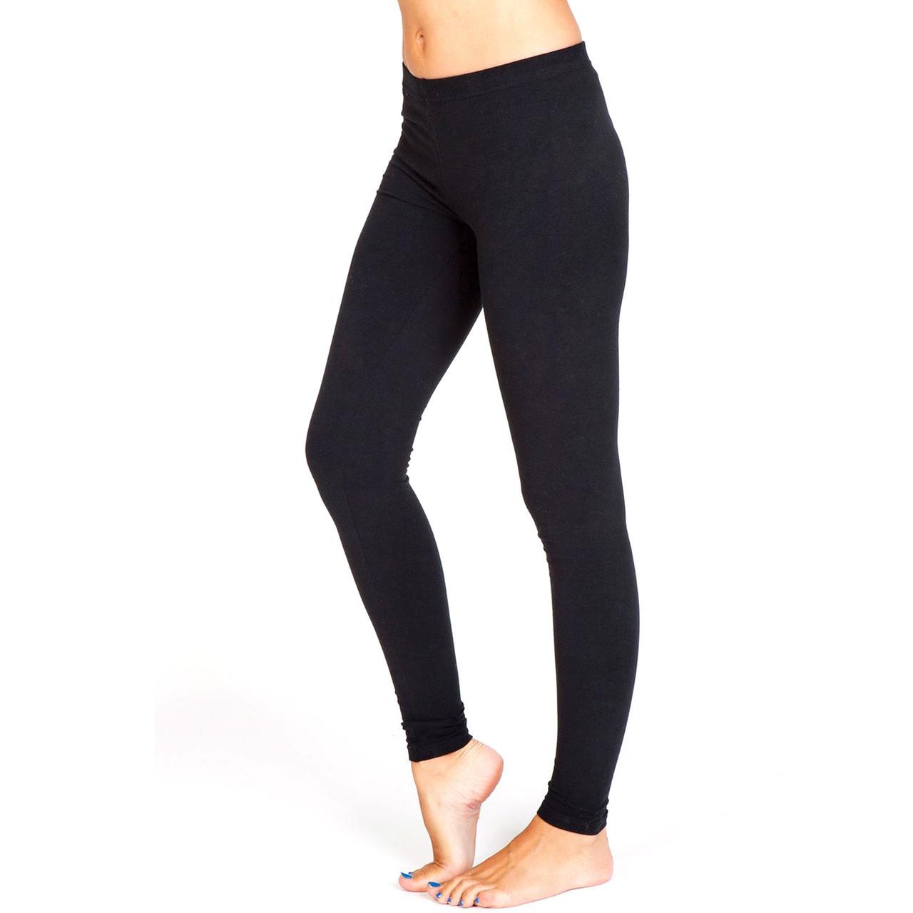 43a9a4a03147f black stretch leggings women   plain fitness clothing