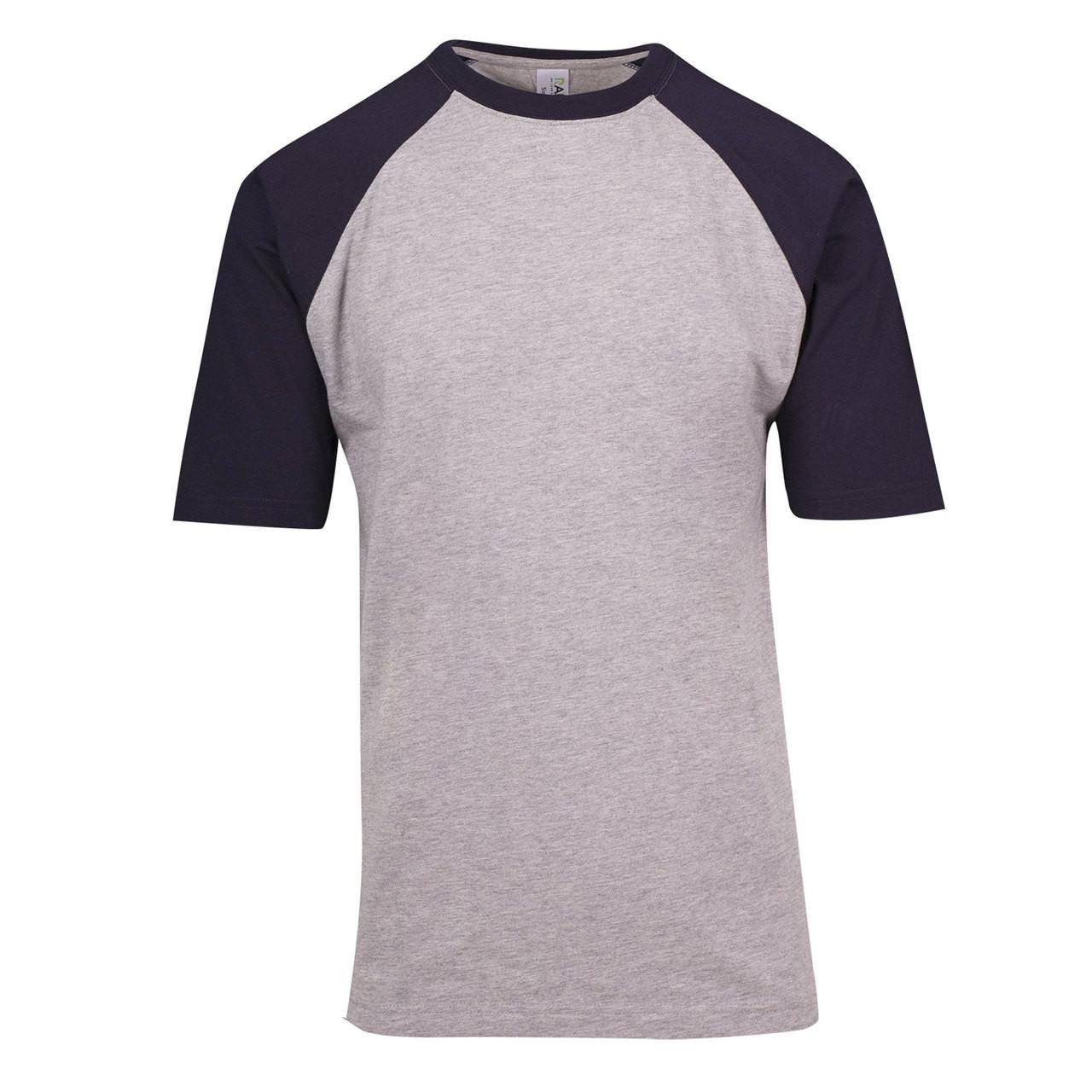 41c5f1a5 t-shirts raglan sleeves two-tone | plain tee shirts | discount ...