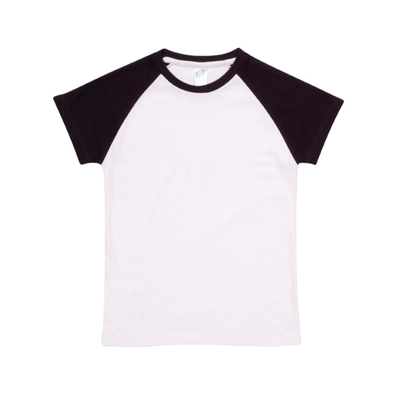 1b6bb508 SAM Kids T-Shirts Two-Tone Raglan Organic | Organic Baby Clothes
