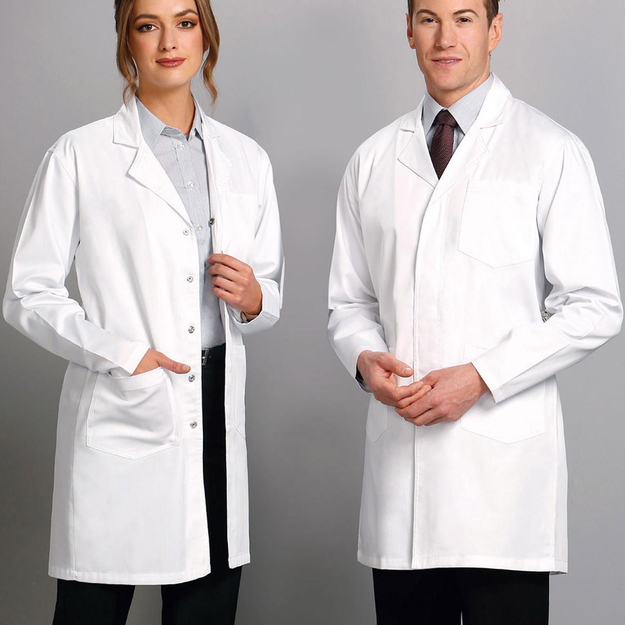 100/% cotton Lab coat Read description for details medical clothing