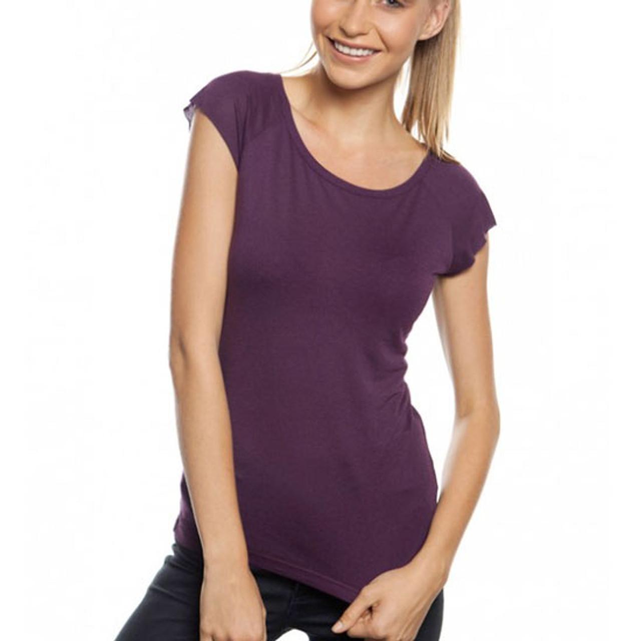 9b402f253dc Women's Bamboo Raglan T Shirts Australia | Ladies Bamboo Raglan T-Shirt