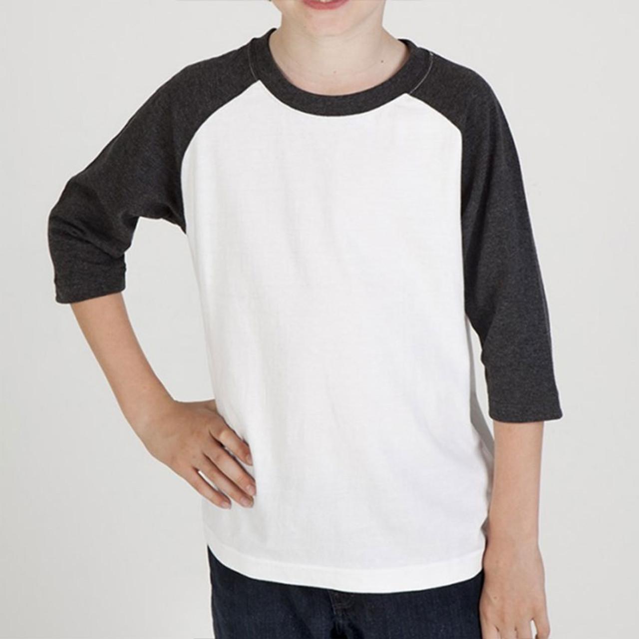 a640e33c MARTY | kids baseball t-shirts 3/4 sleeves | Plain T Shirts | Wholesale T  Shirts