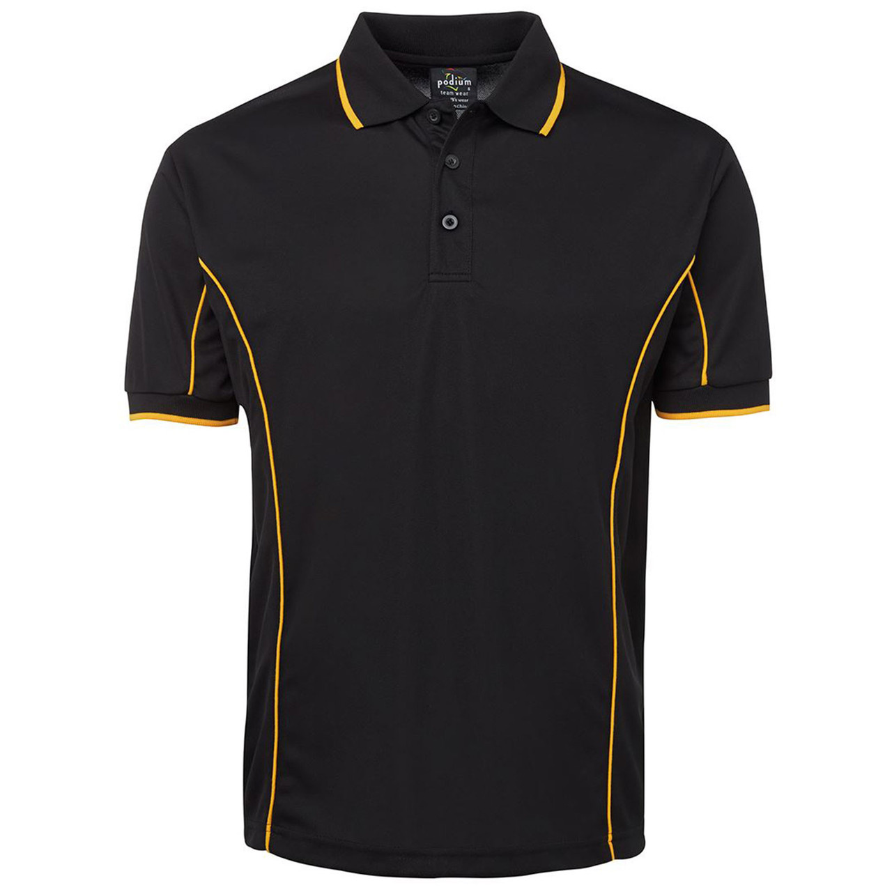New Mens Pique Polo T Shirt Short Sleeve Cotton Contrast Panel Big Size S-5XL