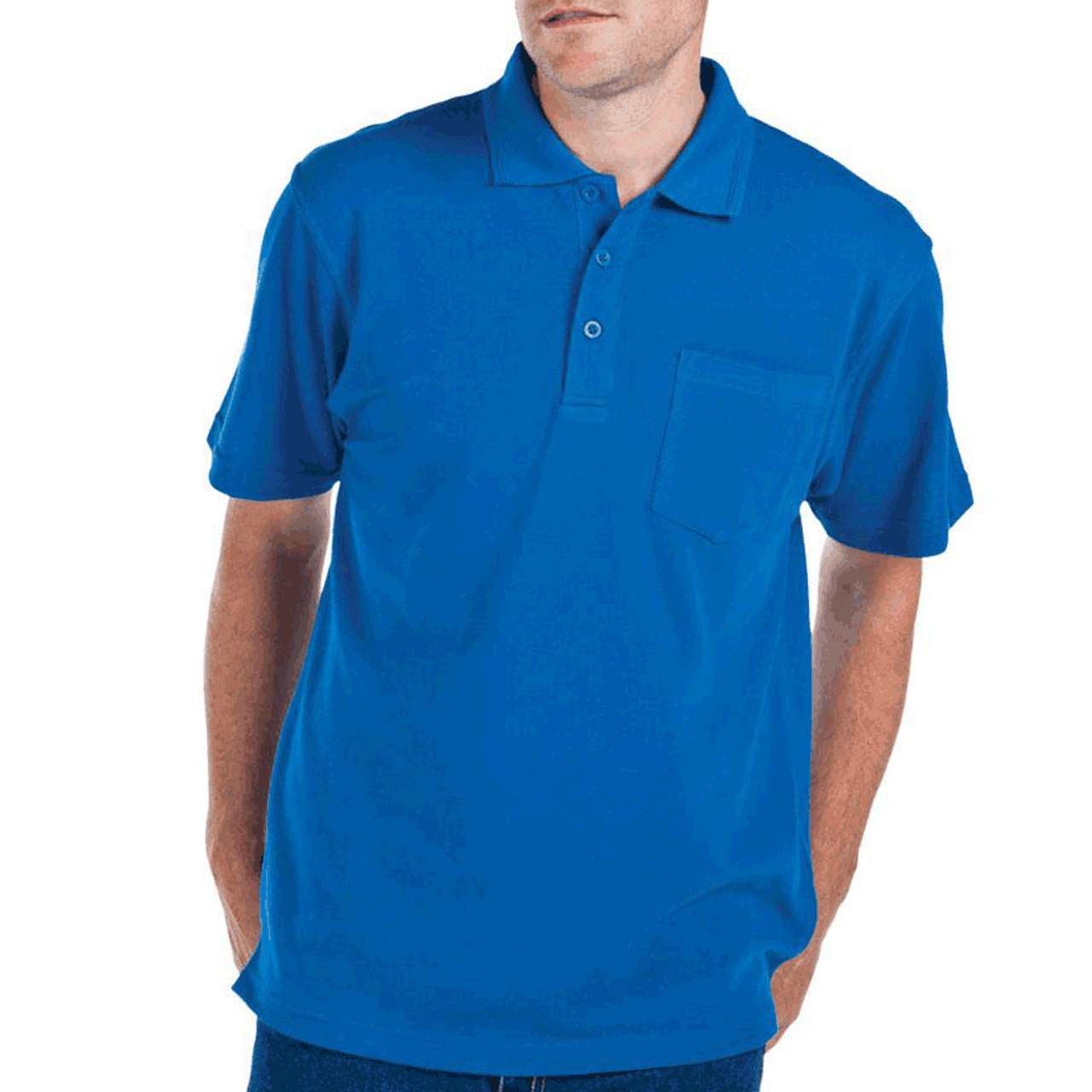 6024ba54 ... Mens Polo Shirts · Polo Shorts Sleeves · WINSTON | Short Sleeve Polo  With Chest Pocket. Click to zoom in