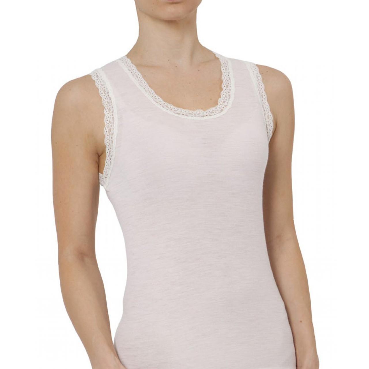2d1ffe0fb7af99 ladies tank singlet thermal | merino blend | blank underwear thermals | base  layer