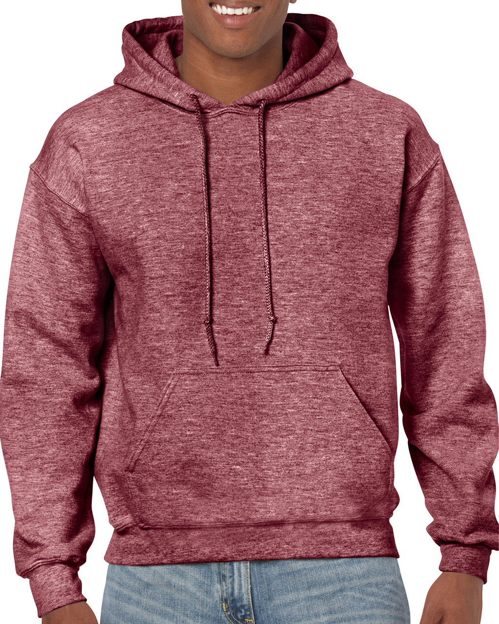 03def5082fa HOORAY | Adult Fleece Plain Classic Fit Hoodie