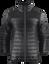 BLACK | Unisex Mens & Womens Softshell Lightweight Puffer Jacket