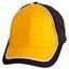 Black+White+Gold | Cotton Twill Two Tone Baseball Cap