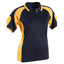 Navy+Gold | Shop Womens CoolDry Contrast Sports Polo Shirts