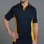 Mens TrueDry Contrast Short Sleeve Polo |  Bulk Buy Plain Teamwear Online
