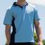 Mens TrueDry Contrast Polo |  Bulk Buy Plain Teamwear Online