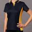 Bulk Buy Ladies TrueDry Contrast Teamwear Polo Shirt