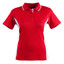 Red+White | Ladies TrueDry Contrast Short Sleeve Polo Shirt Online