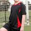 Kids Plain Contrast CoolDry Soccer Jersey