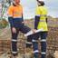 Ladies Heavy Cotton Cargo Pants | Biomotion 3M Tapes