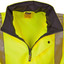 Mens HI-VIS Two Tone Rain Proof Jacket with 3M Tapes
