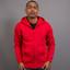 Blank Red | Unisex Kangaroo Pocket Hoodie Jacket