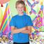 Aqua | Bulk Buy Kids Plain Wholesale 100% Cotton Tshirt