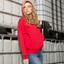 Red | Kids Cotton Rich Hoody Jacket | Wholesale Online