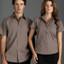 BISTRO men's business shirts short sleeves