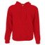 THERMO Ladies hoodies cotton-rich Red