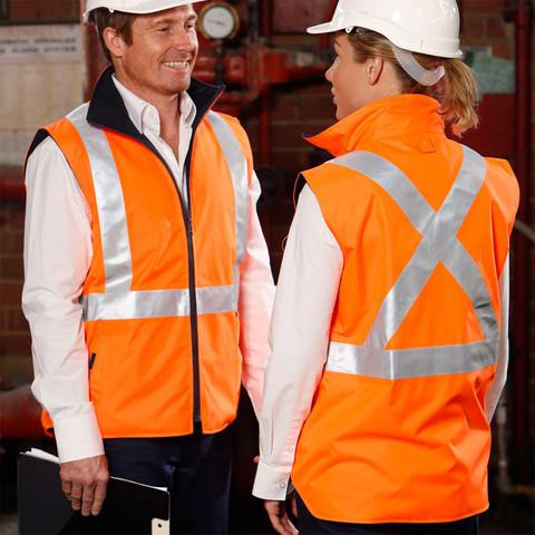 Mens Unisex Hi-Vis Safety Workwear Hat Eyelet Mesh Fluro Hat Elastic Orange Lime