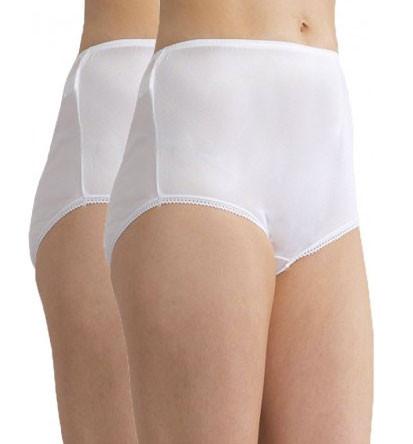 6781e39942fbbc Womens nylon full brief traditional underwear