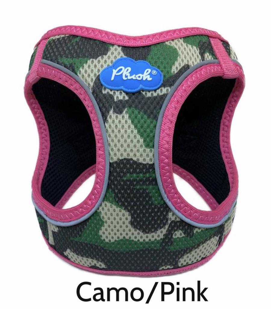 Plush Step In Air Mesh Harness