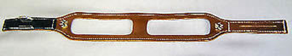 ChokeFree™ NON-METALLIC Leather Shoulder Collars (Harness)