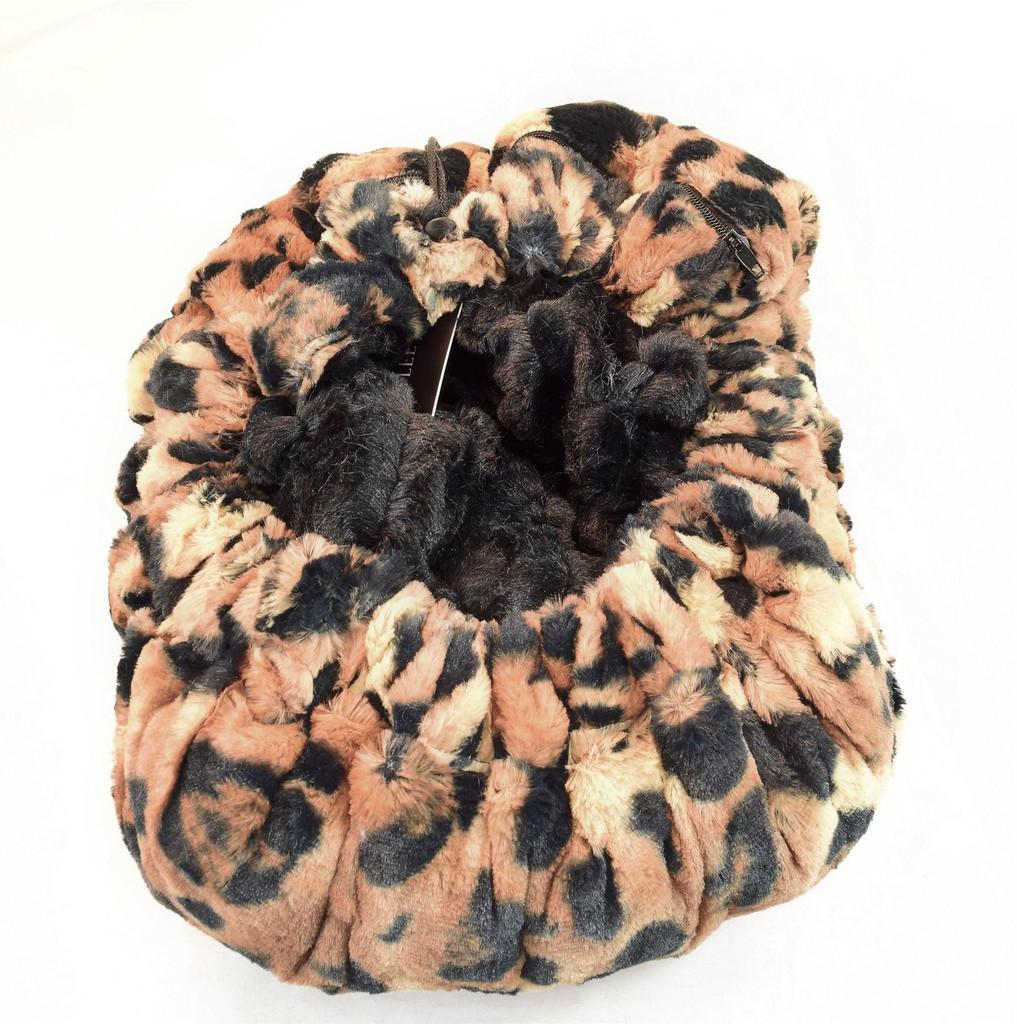 Big Cat & Black Mink Travel Bed/Blanket
