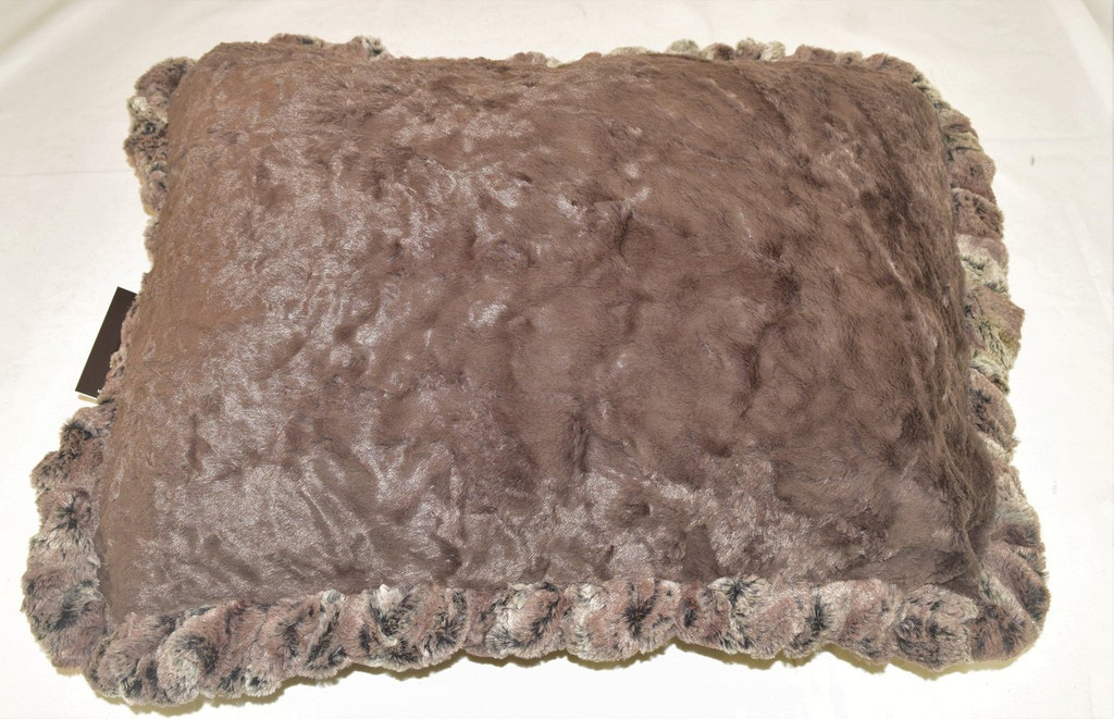 Red fox & Cream Croc Travel Bed/Blanket
