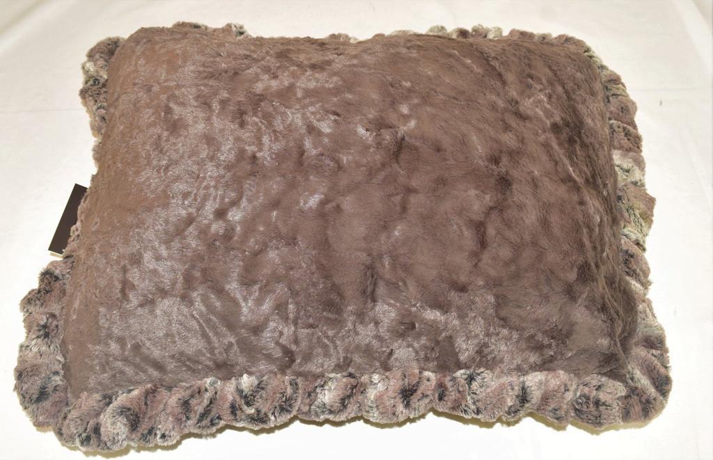Red fox & Cream Croc Travel Bed/Blanket
