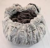 Silver Fox & Grey Mink Travel Bed/Blanket