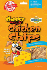 Cheesy Doggie Chicken Chips