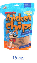 Doggie Chicken Chips 16 oz bag