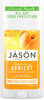 Jason Nourishing Apricot Pure Natural Deodorant Stick