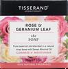 Tisserand Aromatherapy Rose & Geranium Leaf Soap