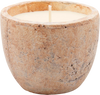 St Eval Candle Sea Salt Outdoor Planter Tuscan Stone Candle - 1.18kg 	(125mm w x 100mm h)