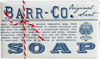 Barr-Co. Single Bar Soap - 170g