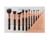 Blank Canvas 12 Piece Rose Gold Black Set Dimension Series