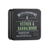 Scottish Fine Soaps Vetiver & Sandalwood Shampoo Bar in a Tin