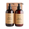 St Eval Bay & Rosemary Hand Wash and Lotion Set