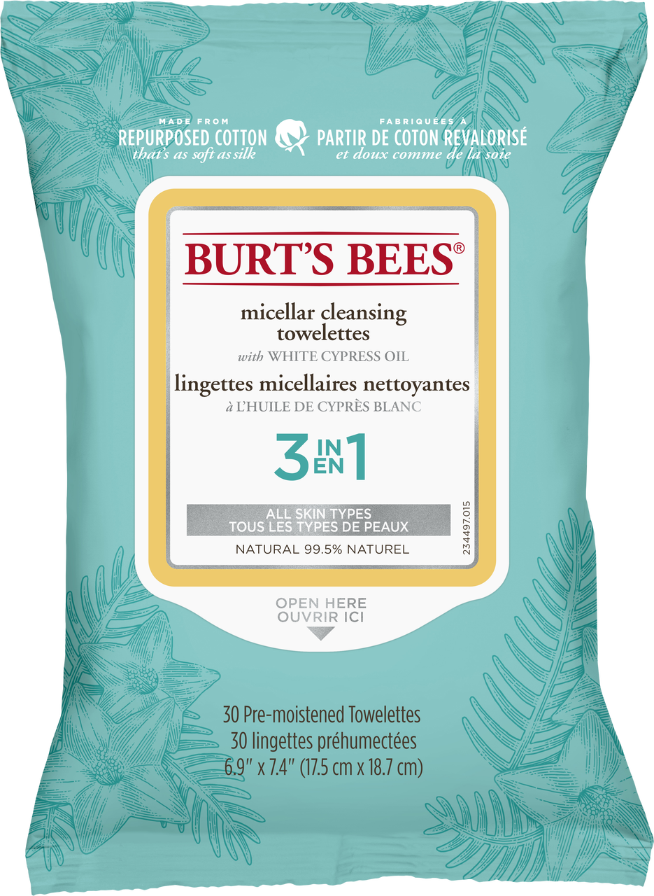 Micellar Cleansing Towelettes by Burt's Bees #9