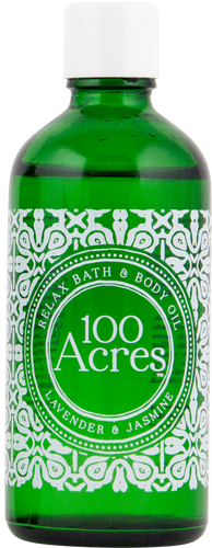 100 Acres Lavender & Jasmine Relaxing Bath & Body Oil