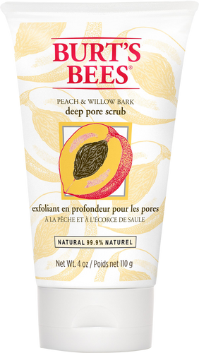 Burt's Bees Peach & Willowbark Deep Pore Scrub