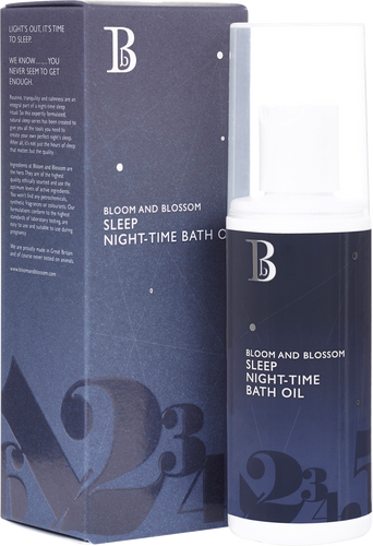 Bloom and Blossom Sleep Night Time Bath Oil