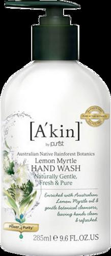 A'kin Lemon Myrtle Hand Wash - 285ml